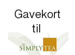 Gavekort til tesmagning