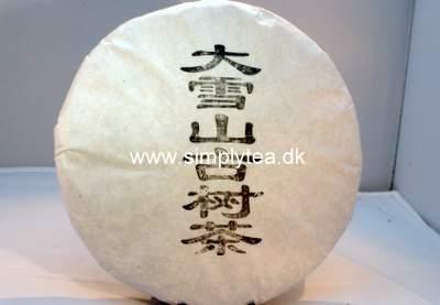 Da Xue Shan Snow Mountain Sheng Puerh