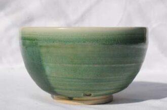 Celedon grøn porcelæn sommer chawan