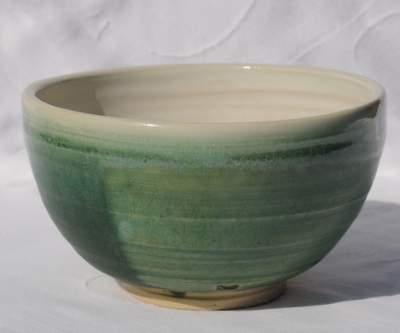 Celedon chawan drikke skål i grøn porcelæn