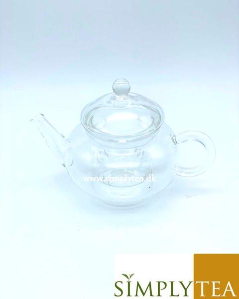 Gong fu glas kande med glas filter