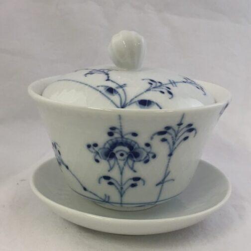 Royal Copenhagen musselmalet porcelæn Gaiwan