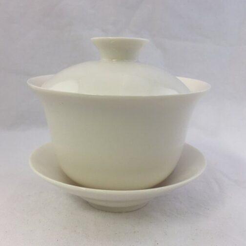 Hvid Porcelæn Gaiwan