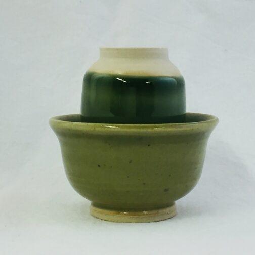 Grøn Kähler Duftekop